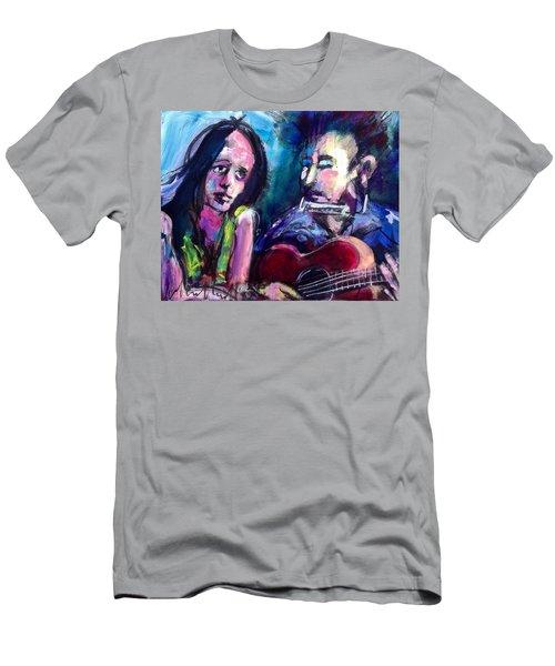 Sad Eyed Lady Men's T-Shirt (Athletic Fit)