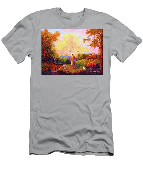 Saint Francis Of Assisi Men's T-Shirt (Athletic Fit)