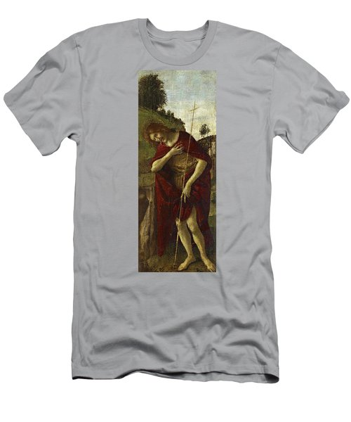 Saint John The Baptist Men's T-Shirt (Athletic Fit)