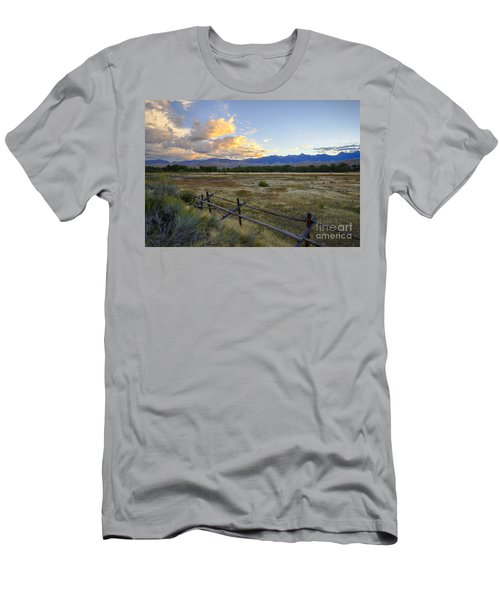 Salmon Valley Dawn Men's T-Shirt (Athletic Fit)