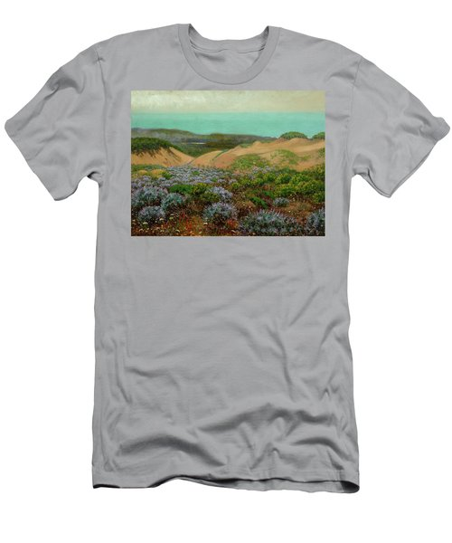 San Francisco Sand Dunes And Lake Merced Men's T-Shirt (Athletic Fit)