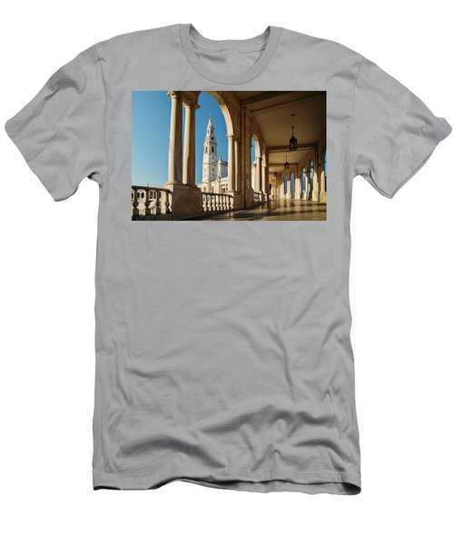 Sanctuary Of Fatima, Portugal Men's T-Shirt (Athletic Fit)