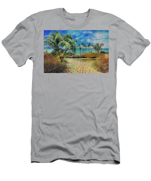 Sand To The Shore Montage Men's T-Shirt (Athletic Fit)