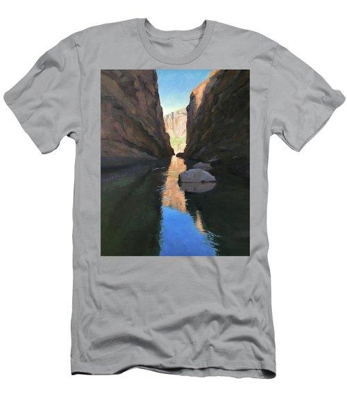 Santa Elena Canyon, Big Bend Men's T-Shirt (Athletic Fit)