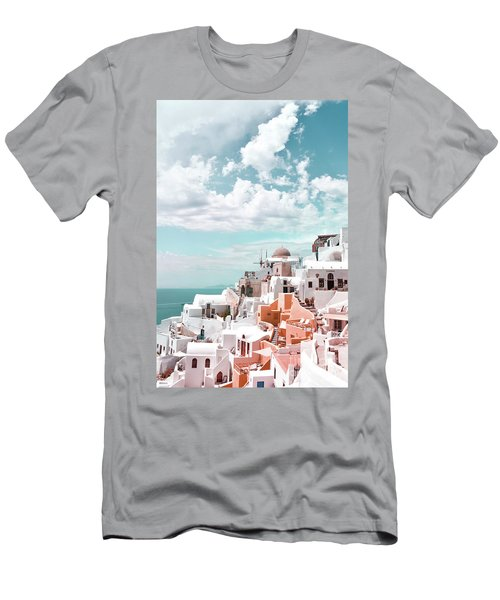 Santorini, Oia Men's T-Shirt (Athletic Fit)