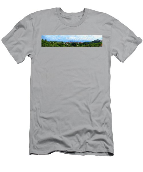 Sapphire Panorama Men's T-Shirt (Athletic Fit)