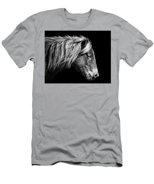Sarah's Sweat Tea Portrait In Black And White Men's T-Shirt (Athletic Fit)