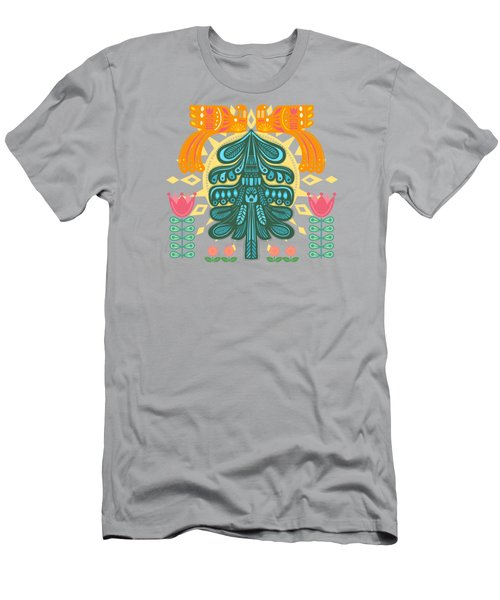 Scandinavian Summer Sunrise Men's T-Shirt (Athletic Fit)