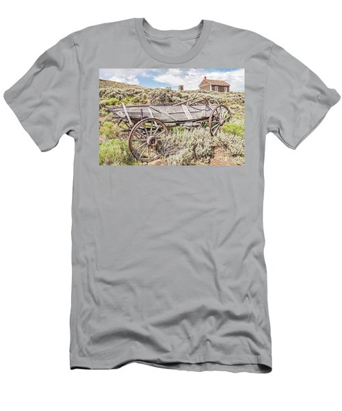 Schoolhouse On A Hill Men's T-Shirt (Athletic Fit)