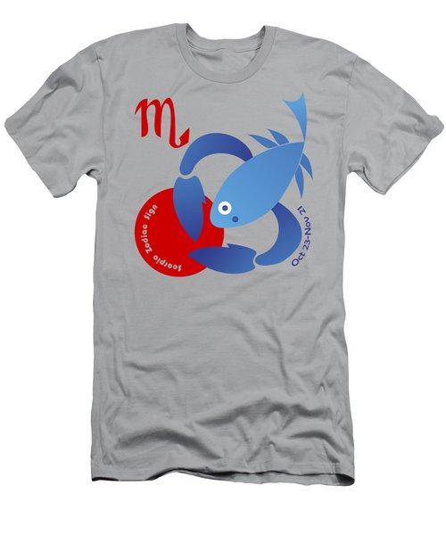 Scorpio -  Scorpion Men's T-Shirt (Athletic Fit)