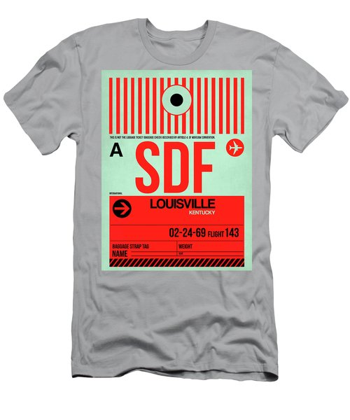 Sdf Louisville Luggage Tag I Men's T-Shirt (Athletic Fit)