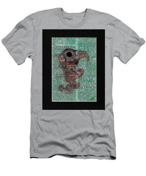 Sea Raven  Men's T-Shirt (Athletic Fit)