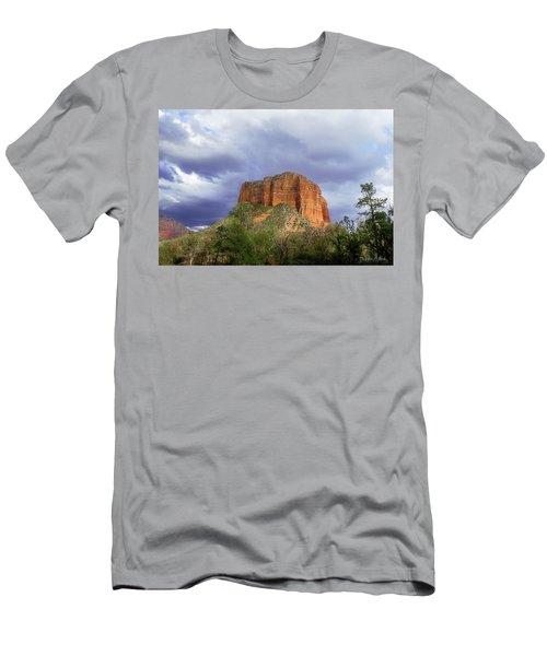 Devil's Mountain Men's T-Shirt (Athletic Fit)