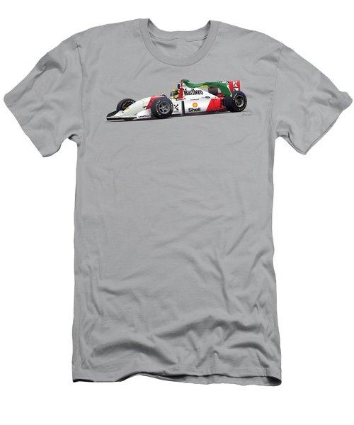Senna No Background Men's T-Shirt (Athletic Fit)