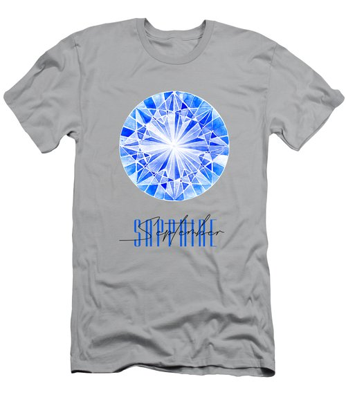 September Birthstone - Sapphire Men's T-Shirt (Athletic Fit)
