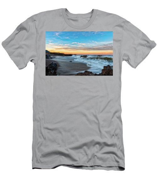 Men's T-Shirt (Athletic Fit) featuring the photograph Serene Brutality by Russell Pugh