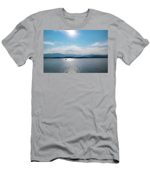 Shadow Mountain Lake Men's T-Shirt (Athletic Fit)