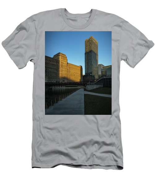 Shadows Of The City Men's T-Shirt (Athletic Fit)