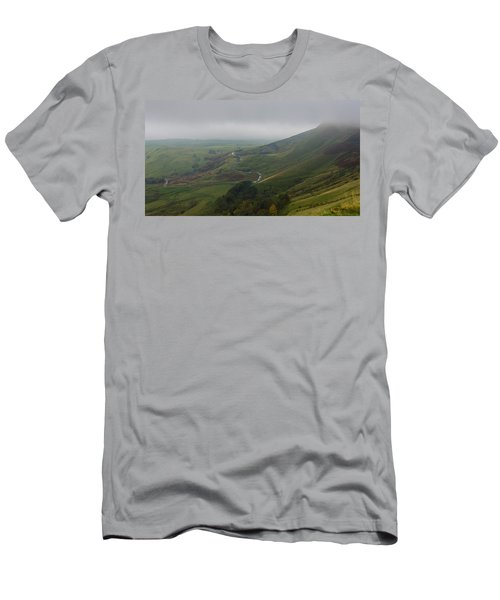 Shivering Mountain,  Men's T-Shirt (Athletic Fit)