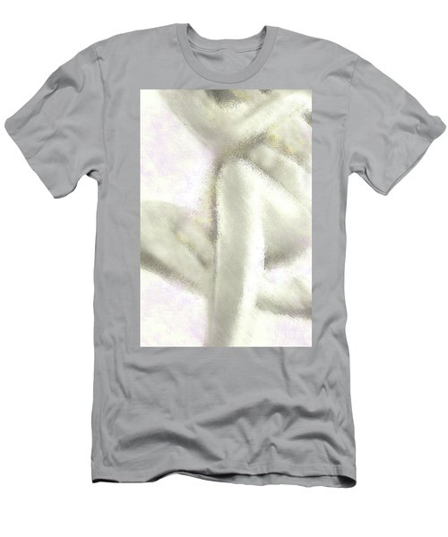 Sitting Nude Men's T-Shirt (Athletic Fit)