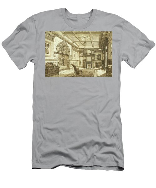Sitting Room Of Bardwold, Merion Pa Men's T-Shirt (Athletic Fit)