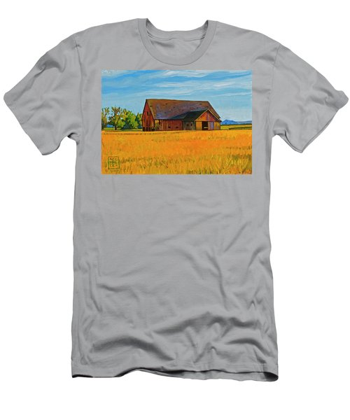 Skagit Valley Barn #9 Men's T-Shirt (Athletic Fit)