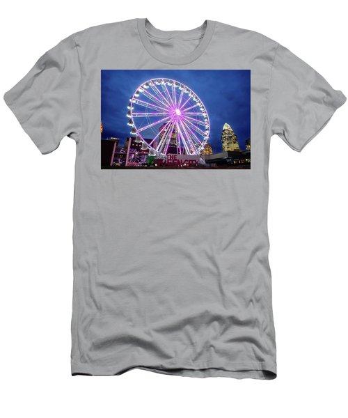 Skystar Ferris Wheel Men's T-Shirt (Athletic Fit)