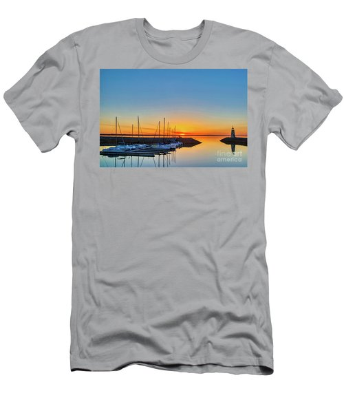 Sleeping Yachts Men's T-Shirt (Athletic Fit)
