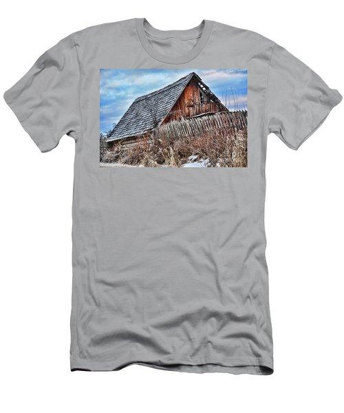 Slippery Slope Men's T-Shirt (Athletic Fit)