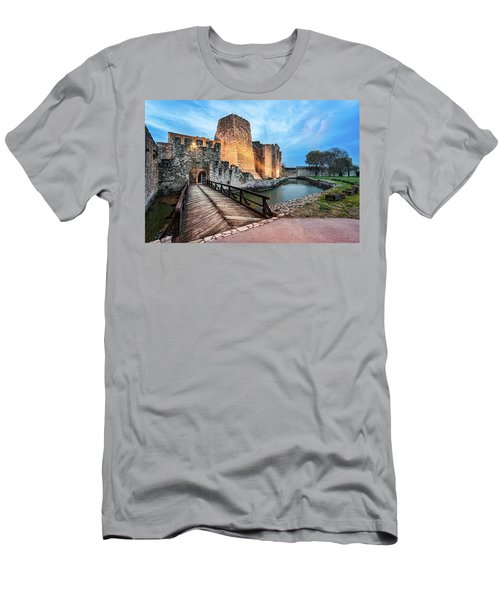 Smederevo Fortress Gate And Bridge Men's T-Shirt (Athletic Fit)