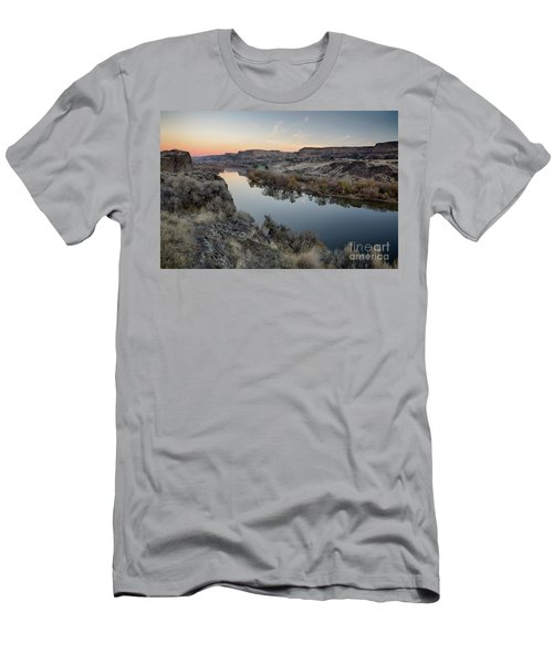 Snake River Dawn Men's T-Shirt (Athletic Fit)