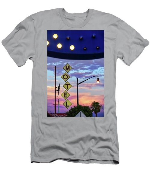 Men's T-Shirt (Athletic Fit) featuring the photograph Sneaker by Skip Hunt