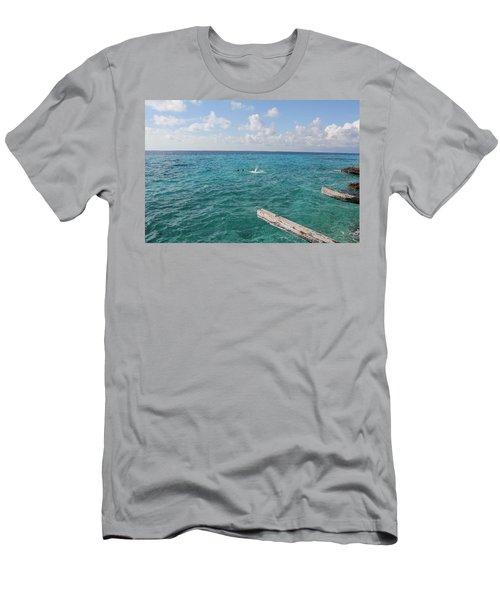 Snorkeling Men's T-Shirt (Athletic Fit)