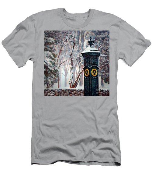Snowy Keeneland Men's T-Shirt (Athletic Fit)
