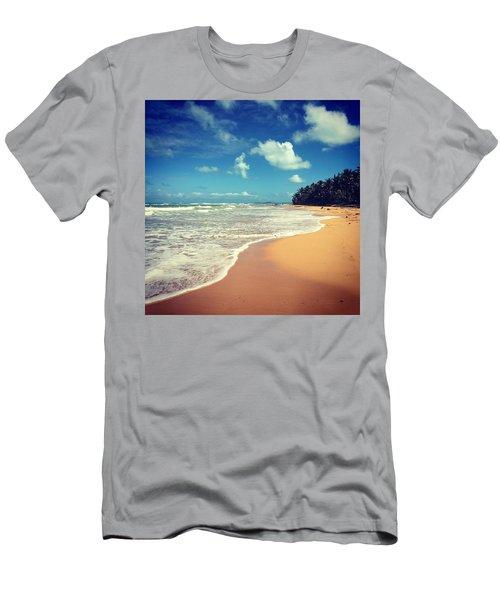 Solitude Beach Men's T-Shirt (Athletic Fit)