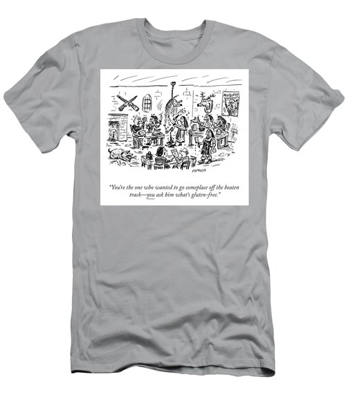 Someplace Off The Beaten Path Men's T-Shirt (Athletic Fit)
