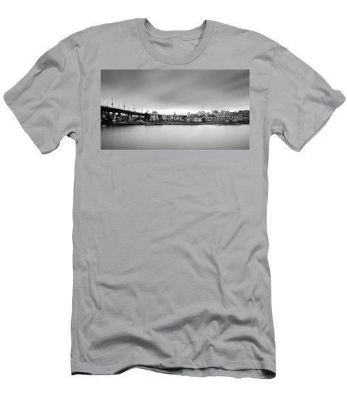 Venice Court, Vancouver Bc, Canada Men's T-Shirt (Athletic Fit)
