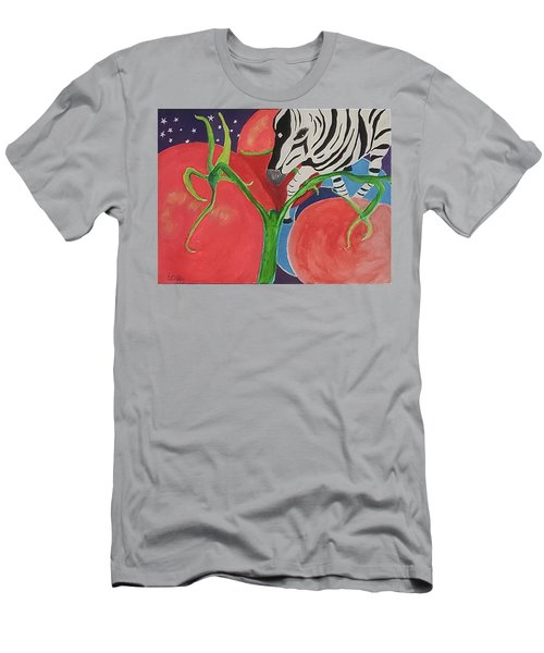 Space Zebra Men's T-Shirt (Athletic Fit)