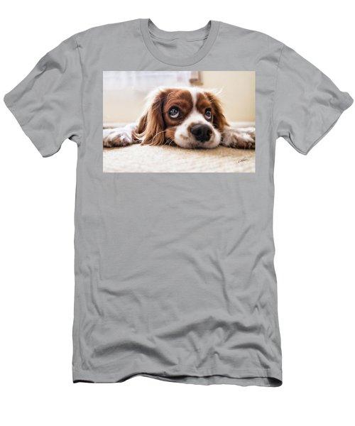 Spaniel Puppy Dwp2785074 Men's T-Shirt (Athletic Fit)