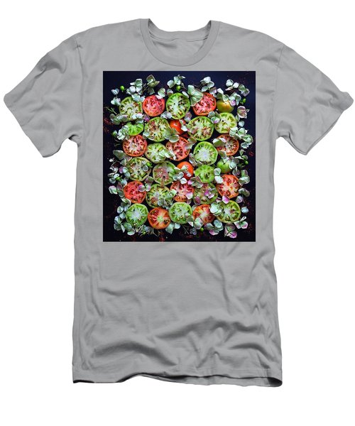 Spiced Tomatoes Men's T-Shirt (Athletic Fit)