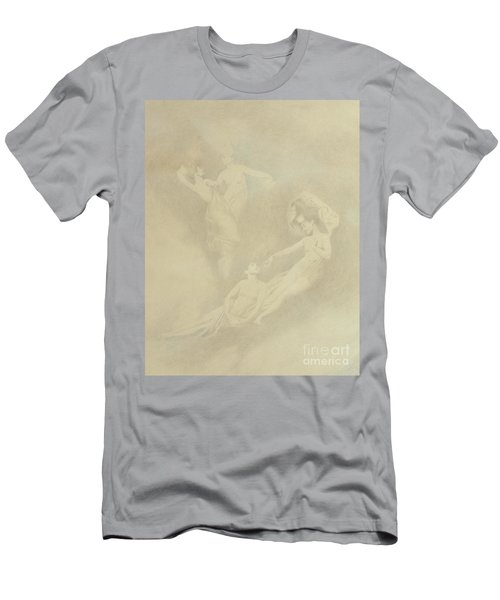 Spirits In The Mist  Men's T-Shirt (Athletic Fit)