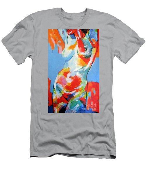 Splash Of Desire Men's T-Shirt (Athletic Fit)