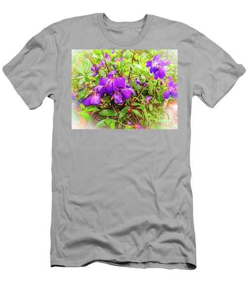 Spring Blossoms2 Men's T-Shirt (Athletic Fit)