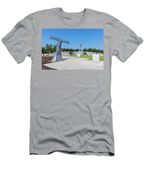 Springfield Village Park - Augusta Ga Men's T-Shirt (Athletic Fit)