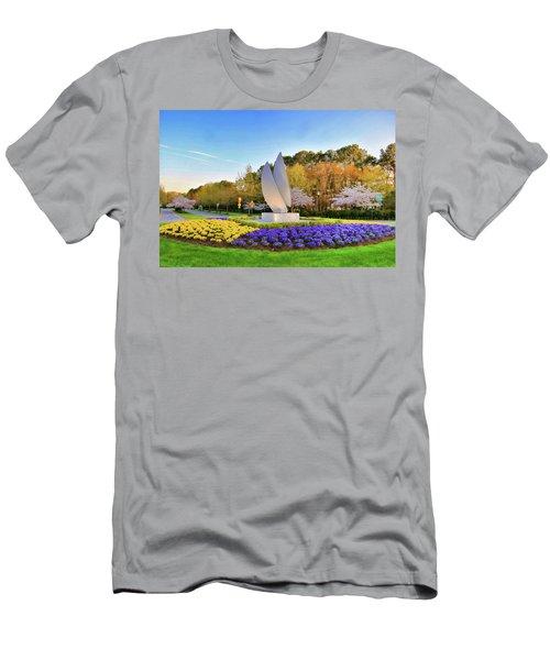 Springtime At Christopher Newport University Men's T-Shirt (Athletic Fit)