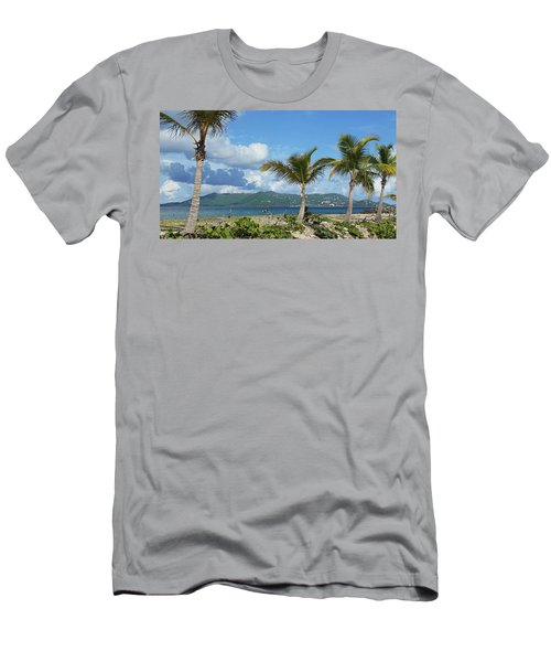 St. John View Men's T-Shirt (Athletic Fit)