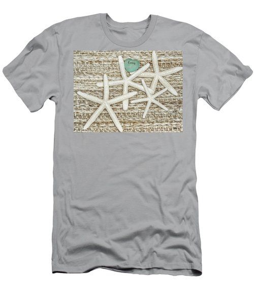 Starfish Love Men's T-Shirt (Athletic Fit)
