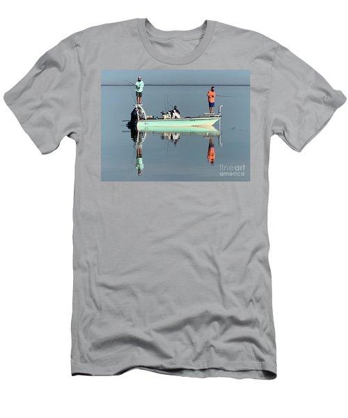 Still Fishing Men's T-Shirt (Athletic Fit)