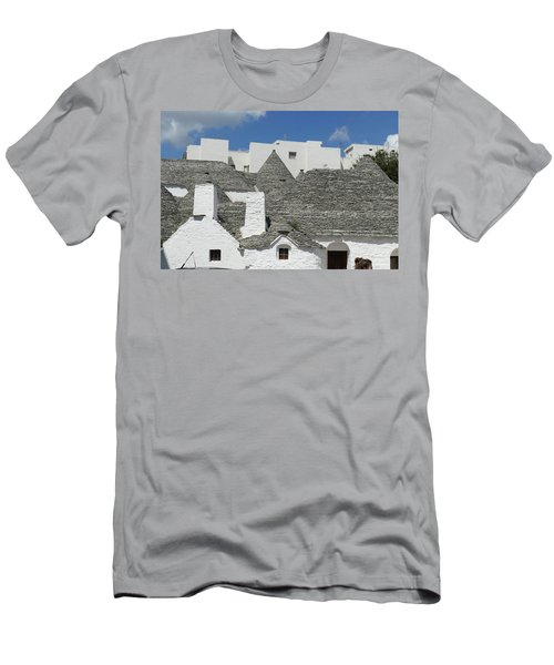 Stone Coned Rooves Of Trulli Houses Men's T-Shirt (Athletic Fit)