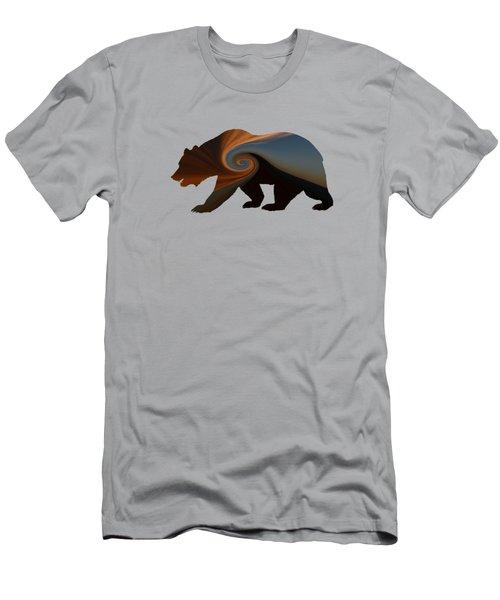 Storm Bear Men's T-Shirt (Athletic Fit)